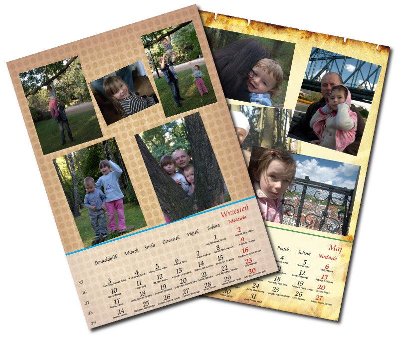 Kalendarze okolicznościowe